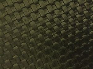 Black Basket Weave Woven Upholstery Vinyl Fabric Sold By