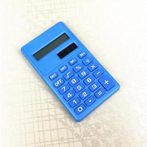 Taschenrechner Bürorechner 8 Stellige Knopf Batterie Rechner Tischrechner Pro,