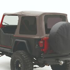Smittybilt 9870211 In Stock Replacement Soft Top Fits 87 95 Jeep Wrangler Yj Fits 1994 Jeep Wrangler