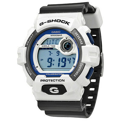 Casio G Shock Trending White and Grey Resin Mens Watch G8900SC-7