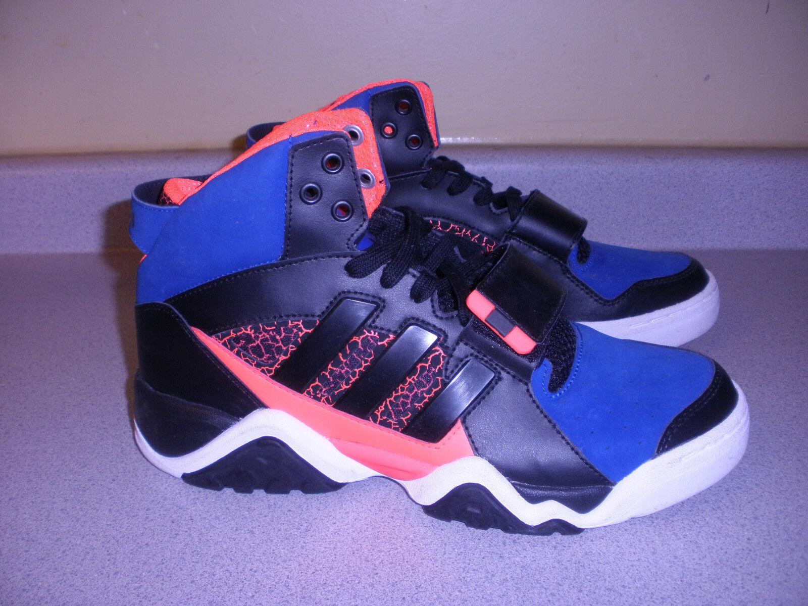 Adidas streetball 1,5 uomini blu campione scarpe taglia 9 blu uomini e nero arancione bianco 74f3d6