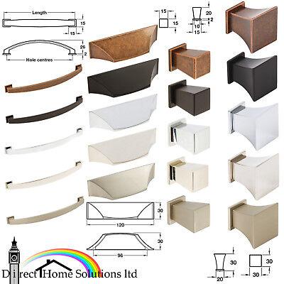 Bow Knob Handles Antique Copper Kitchen Furniture Cabinet Hafele Augusta Cup