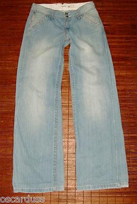 100% Vero Jeans School Rags Vita Bassa Taglia 28 Us