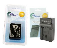 New Battery for Panasonic + Charger DMW-BLD10 dmc b204