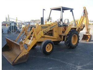 CASE-580C-TRACTOR-LOADER-BACKHOE-SHOP-REPAIR-SERVICE-MANUAL-CK-KING-580-C-580-C
