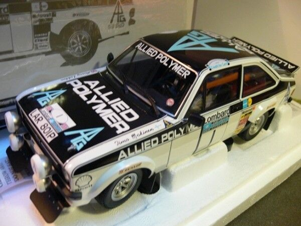 1 18 Minichamps Ford Escort II RS1800 Winners RAC Rally 1975 Allied Polymer  | Deutschland Shop