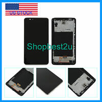 Black Lcd Touch Screen Digitizer Replacement +frame Fr Lg Stylo 2 Ls775 Stylus 2