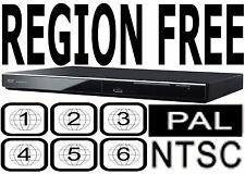 Panasonic Region Code Free Player Plays DVD from All Countries DVDS700 HDMI PAL