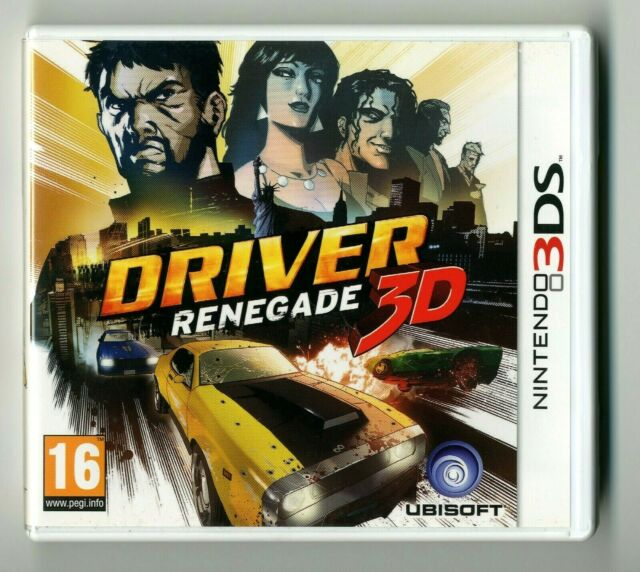 JEU NINTENDO 3DS ★ DRIVER RENEGADE 3D ★ COMPLET AVEC NOTICE