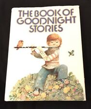 Vintage The Book Of Goodnight Stories With Dust Cover