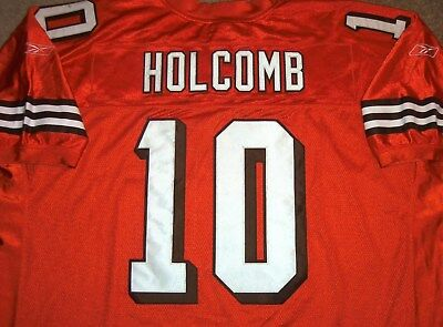 Wholesale VTG AUTHENTIC KELLY HOLCOMB CLEVELAND BROWNS REEBOK ALTERNATE JERSEY  free shipping
