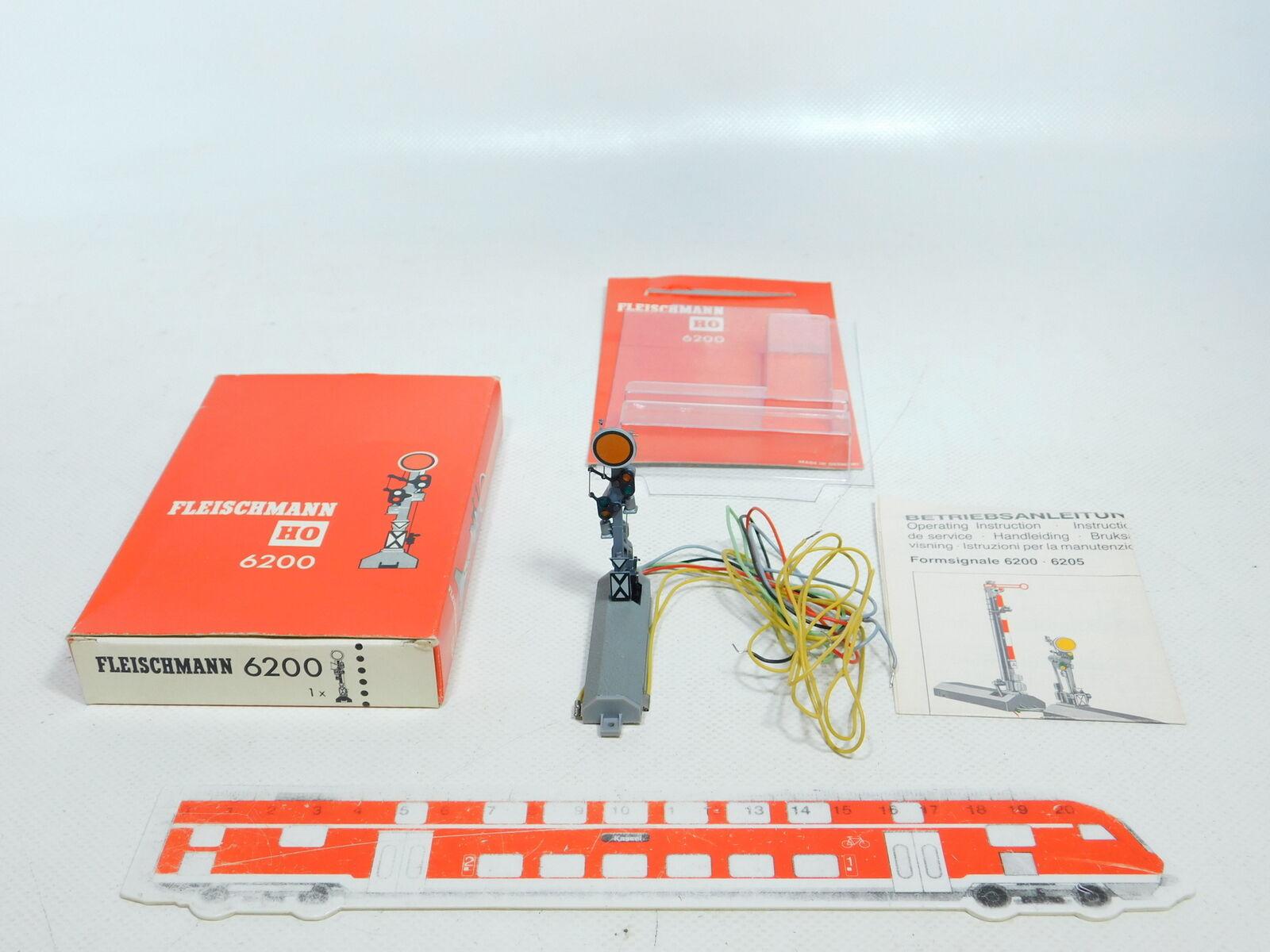 Bx685-0, 5  Fleischmann H0 Dc 6200 Form Distant Signal Signal Tested, Nip