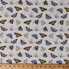 Dragonflies Dragonfly Insects Bugs Moss Green Cotton Fabric Print BTY D506.44