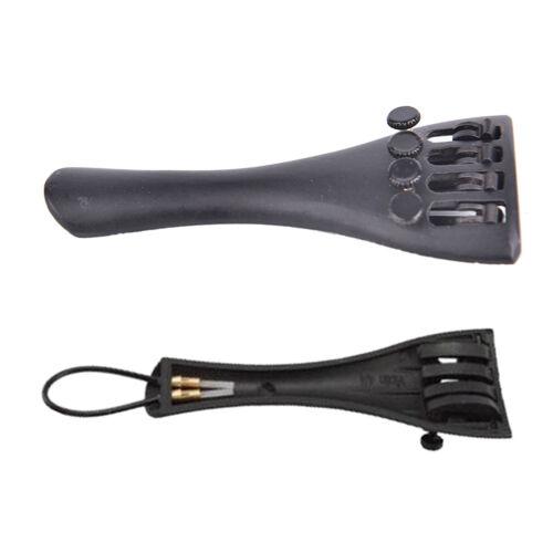 3//4 4//4 1//8 Violin Tailpiece Fine Tuner Aluminum Alloy Tailpiece with-TailZJP