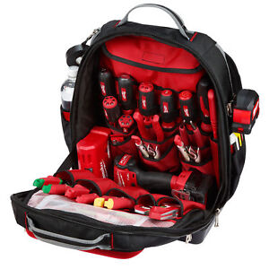 74328e3ff1aa Milwaukee Ultimate Jobsite Backpack - 48 Pockets for sale online