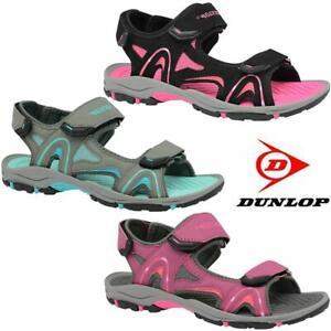 Femme Sandales Dunlop Sports Randonnée Marche Trekking Plage Chaussures-afficher Le Titre D'origine