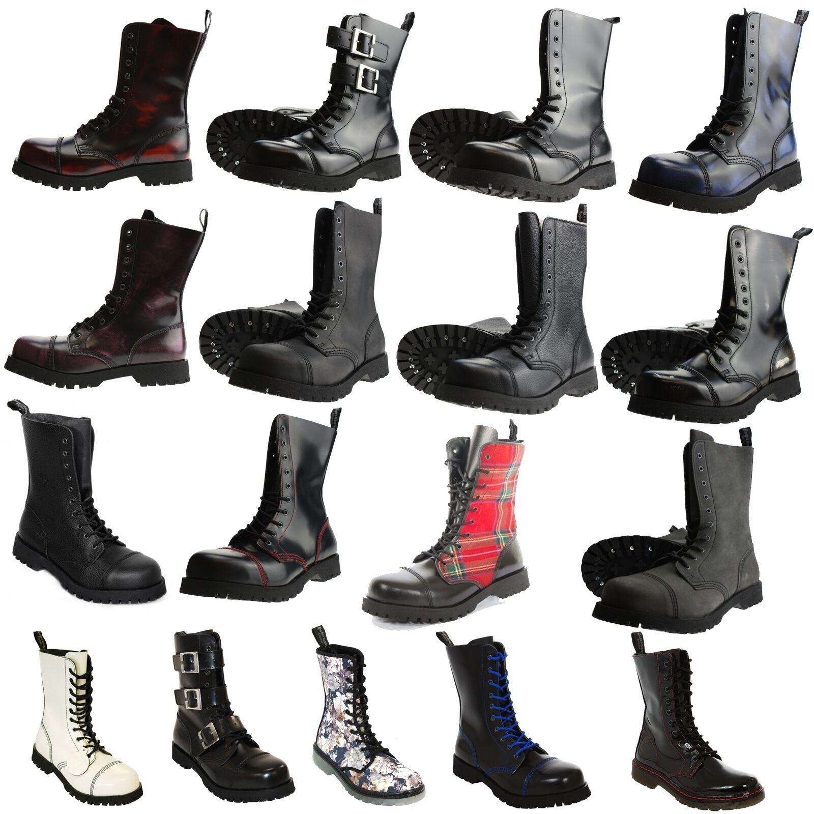 botas & Braces - 10 agujeros botas Rangers