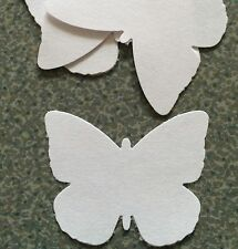 GARDEN Butterfly BLOCK Punches 80gsm Premium White Paper *SECONDS* 100 Pieces!