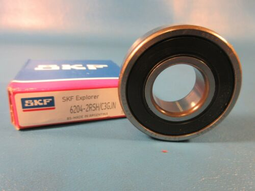 SKF 6204-2RSH C3 Single Row Ball Bearing =2 FAG, NSK, KOYO
