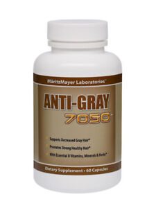 Details about Anti Grey Hair Vitamins | Maritz Mayer - Catalase Hair Loss  Supplement / Tablets