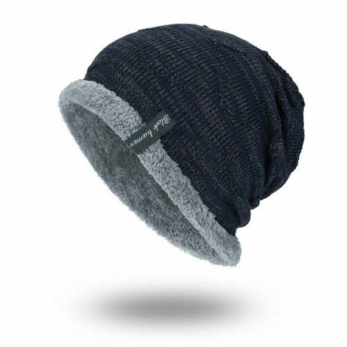 Winter Beanies Slouchy Chunky Hat for Men Women Warm Soft Skull Knitting Hats
