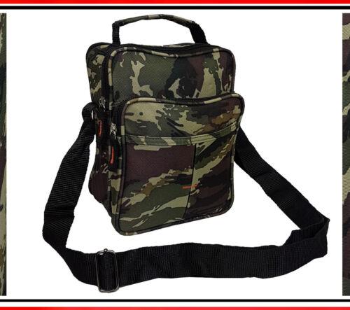 Unisex Umhängetasche Stofftasche Sport Reise Outdoor Army Camouflage Muster 6270