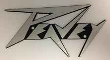 Peavey Vintage and Current Replacement Metal Logo (Lighting Bolt)Amps & Cabs NOS