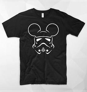 Trooper-Mouse-T-Shirt-Top-Star-Wars-Darth-Vader-Sith-Skywalker-Disney-Mickey