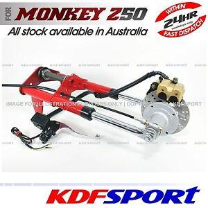 KDF-FRONT-END-FORK-DISC-LEG-BRAKE-HUB-BIKE-50-FOR-HONDA-MONKEY-Z50-Z50J-Z50R