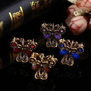 1 Pcs Retro Resin Mini Butterfly Crystal Hair Claw Clip Hair Clips Hairpin Girls