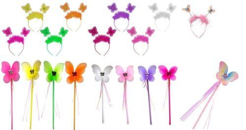 Farfalla Boppers Capelli Alice Testa Banda Da Festa Con Pietra Per Kid ragazze principessa