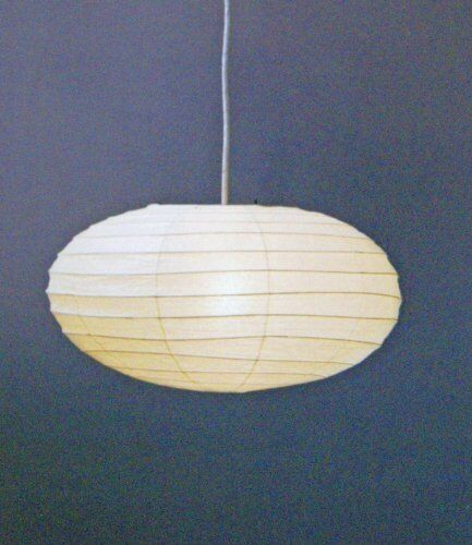 ISAMU NOGUCHI AKARI 50EN Pendant light Shade only Japanese Moden Lighting F//S