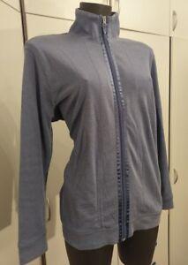 Shirt-Jacke-Gr-42-44-in-Blau