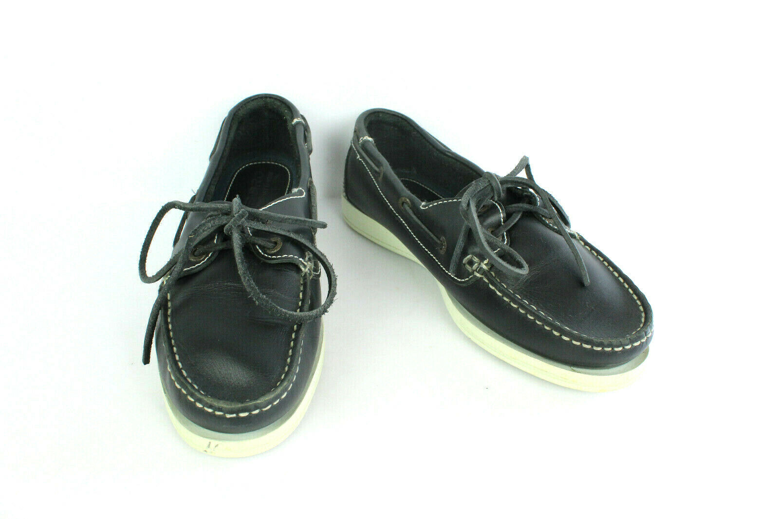 Mocassin TRIBORD Leather Midnight bluee T 39   VERY GOOD CONDITION