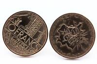 Boutons De Manchettes Pièce De Monnaie Authentique  France  10 Francs Mathieu