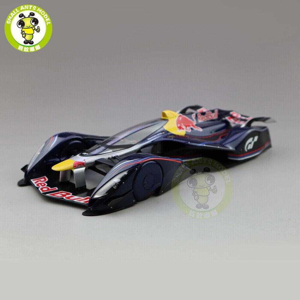 1 18 Autoart 18118 rojo Bull X2014 Ventilador Coche Sebastian Vettel Diecast Modelo de Coche