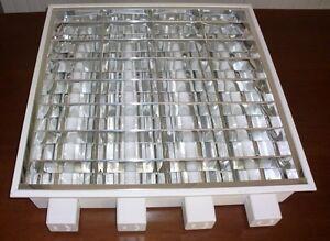 Plafoniere Da Ufficio Disano : Plafoniere disano aeg 4x18w stock n.10 pezzi neon ebay