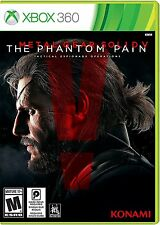 Metal Gear Solid V The Phantom Pain Xbox 360 Brand New Factory Sealed