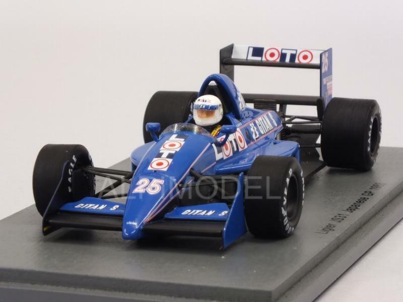 Ligier JS31 GP Japan 1988 Renee Arnoux 1 43 SPARK S3968