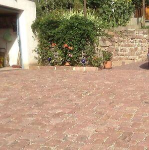 0,5 Qm Pavés Buntsandsteine Pierre Pierre Naturelle Jardin Cloisons Sèches