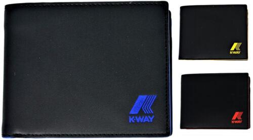 Portafoglio Uomo K-Way Wallet Men