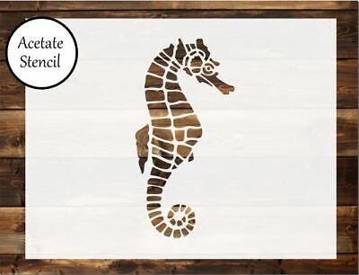 sea shell Stencil Airbrush shell Stencil Card making Craft Stencil