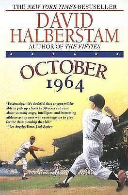 1 of 1 - October 1964 By David Halberstam (Yankees & Cardinals / Paperback)