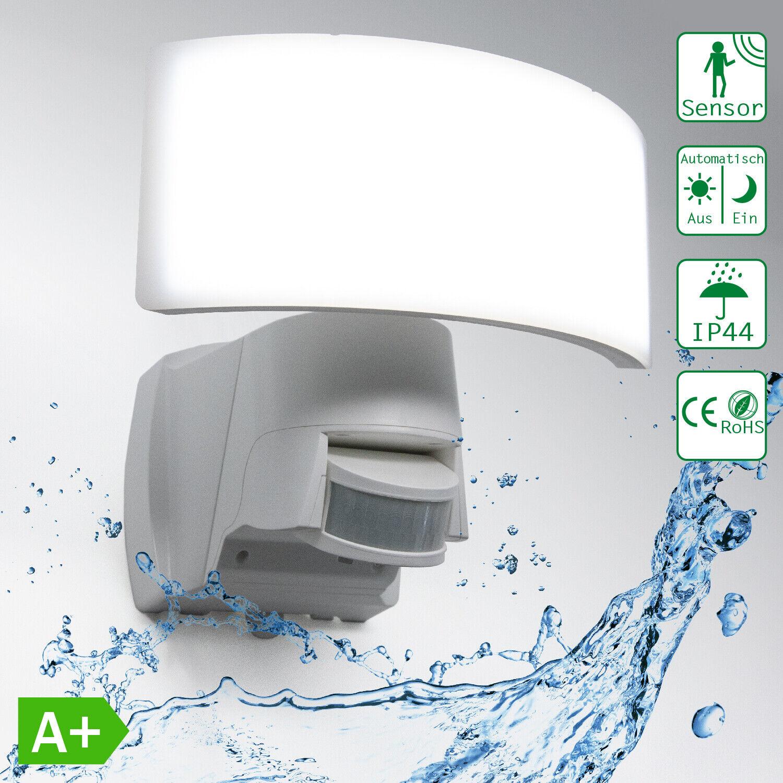LED Fluter Außenstrahler Scheinwerfer Bewegungsmelder Wasserdicht WTT-1017