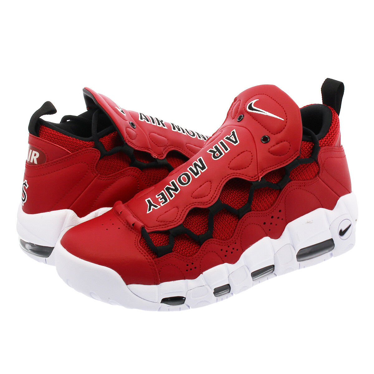 Nike Air More Money AJ2998 600 Gym Red White Men Price reduction