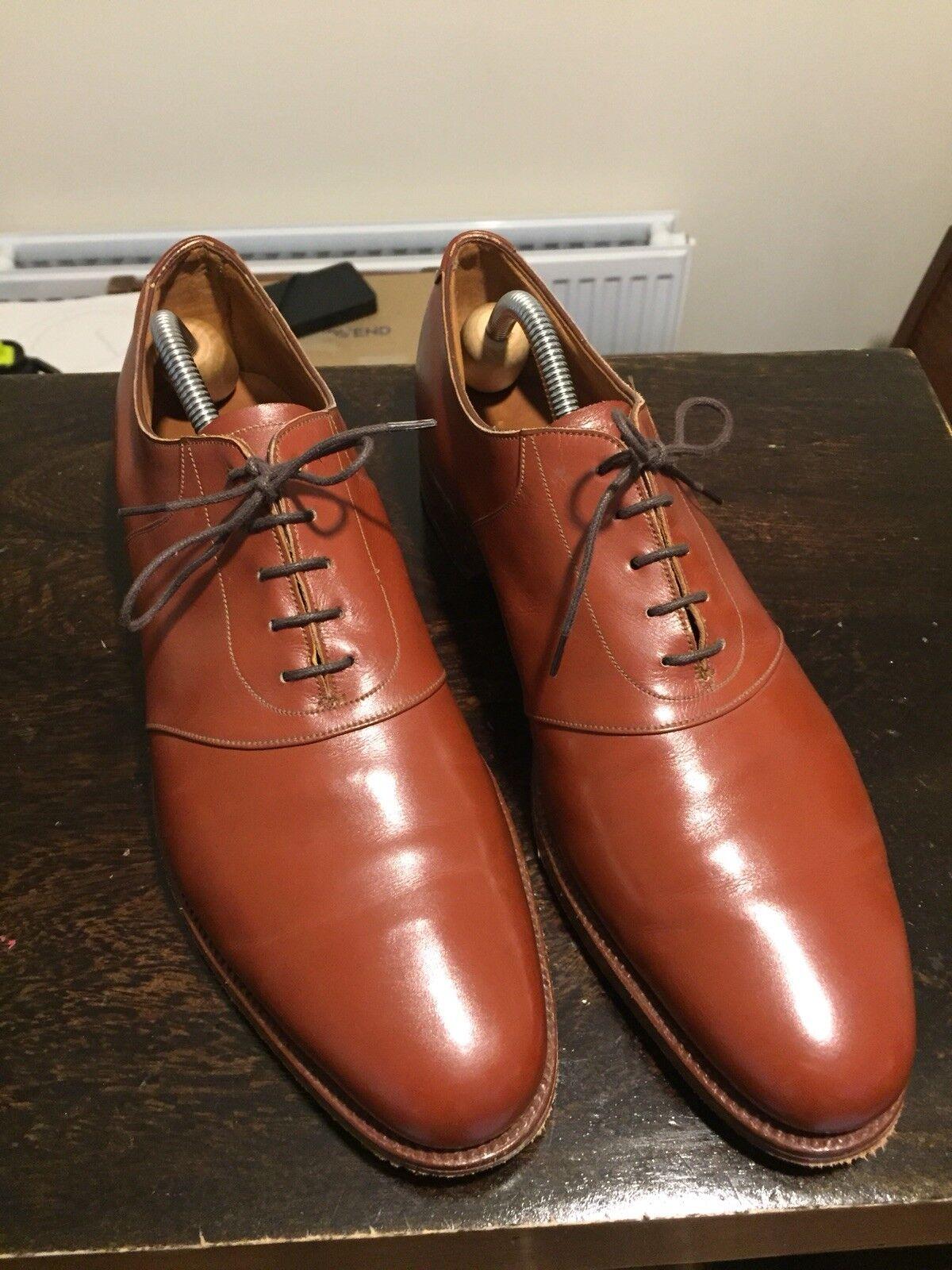 Mens Edward Grün Vintage Paul Stuart Work schuhe Original Original Original Soles Heels Gents Rare 4700fc