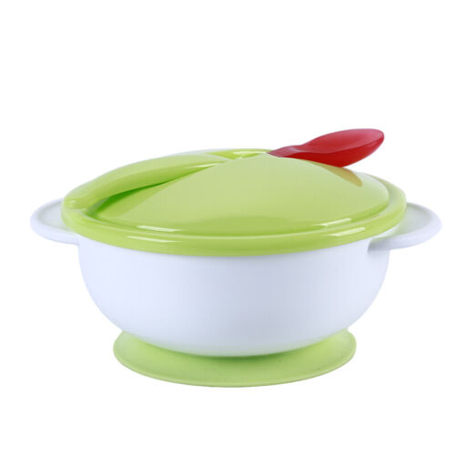 Baby Tableware Infant Food Dishes Children Bowl Kids Feeding Spoon Dishes CB
