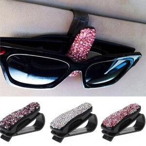 Fashion-Car-Vehicle-Sun-Visor-Sunglasses-Eyeglasses-Card-Drill-mounted-Holder