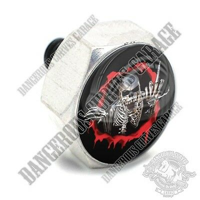 TATTOO GIRL G Vivid Black Billet Hex Air Cleaner Cover Bolt Twin Cam Touring