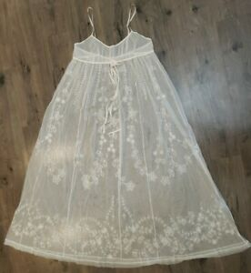 victorias secret goddess nightgown dress lingerie sheer